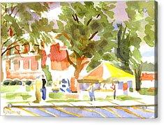 Farmers Market Ironton Missouri Acrylic Print