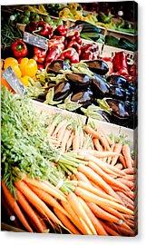 Acrylic Print featuring the photograph Farmer's Market by Jason Smith