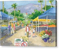 Farmers Market Acrylic Print