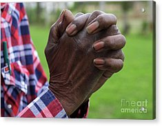 Farmers Prayer Acrylic Print