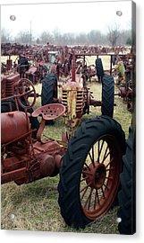 Farmers Racer Acrylic Print by Joy Tudor