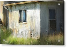 Farmhouse Detail Port Albert Ontario Acrylic Print by Bob Salo