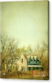 Acrylic Print featuring the photograph Farmhouse In Arkansas by Jill Battaglia