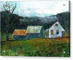 Farmhouse Acrylic Print by Michele Carter