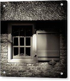 Farmhouse Window Acrylic Print