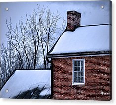 Acrylic Print featuring the photograph Farmhouse Window by Robert Geary