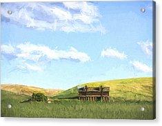 Farming In Washington II Acrylic Print by Jon Glaser