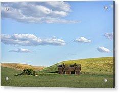 Farming In Washington Acrylic Print by Jon Glaser