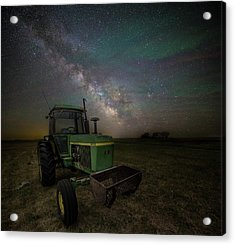 Acrylic Print featuring the photograph Farming The Rift 7 by Aaron J Groen