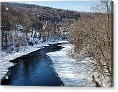 Farmington River Acrylic Print