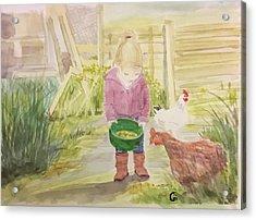 Farm's Life  Acrylic Print
