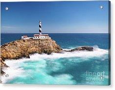 Faro Cala Figuera Acrylic Print