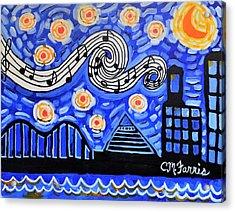 Memphis Nights Acrylic Print
