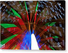 Farris Wheel Light Abstract Acrylic Print by James BO  Insogna
