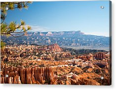 Farview Point, Bryce Canyon N.p. Acrylic Print