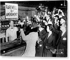 Farwell 18th Amendment Acrylic Print