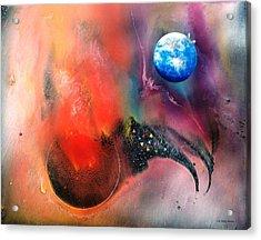 Farwell To Mars Acrylic Print by Lee Pantas