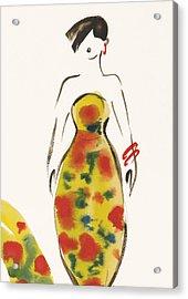 Fashion Iv Acrylic Print by Susan Adams