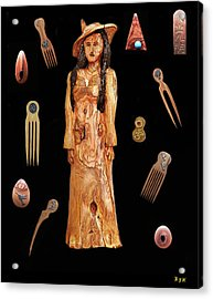 Fashion Jewellery  Acrylic Print by Eric Kempson