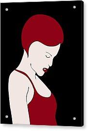 Fashion Wall Art Acrylic Print by Frank Tschakert