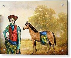 Fashionably Western Acrylic Print