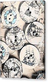 Fashioning The Ship Quarters Acrylic Print