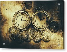Fashioning The Time And Money Conundrum Acrylic Print