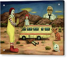 Fast Food Nightmare 5 The Mirage Acrylic Print