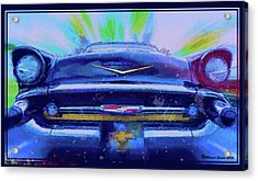 Fast Lane Acrylic Print by Marvin Spates