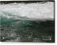 Fast Water Acrylic Print