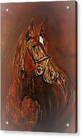Fasten With A Buckle Acrylic Print