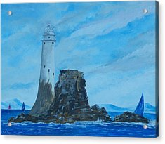 Fastnet Rock Lighthouse. Acrylic Print