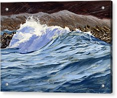 Fat Wave Acrylic Print
