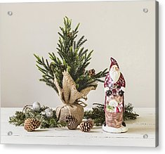 Acrylic Print featuring the photograph Father Christmas by Kim Hojnacki