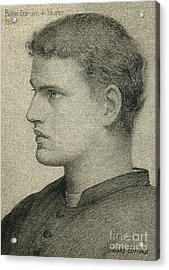 Father Damien De Veuster Acrylic Print by James Temple