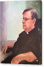 Father Ed Acrylic Print