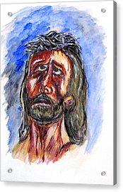 Father Forgive Them Acrylic Print