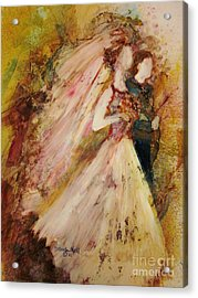 Father Of The Bride Acrylic Print