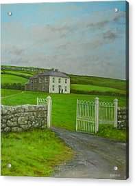 Father Ted Acrylic Print by Eamon Doyle