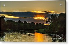 Father's Day Sunset Acrylic Print