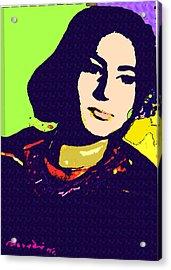 Fatima Acrylic Print by Noredin Morgan