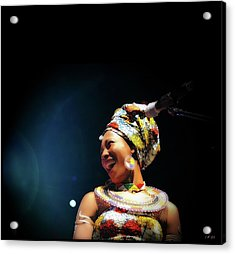 Fatoumata Diawara Acrylic Print