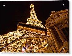 Acrylic Print featuring the photograph Faux Eiffel by Kim Wilson