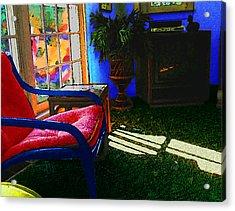 Faux Fauve Interior Acrylic Print
