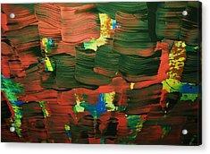 ..favella.-series.... Acrylic Print by Adolfo hector Penas alvarado