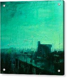 Faversham Creek Green Acrylic Print by Paul Mitchell