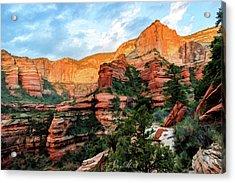 Fay Canyon 07-053 Acrylic Print by Scott McAllister