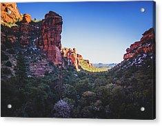 Fay Canyon Vista Acrylic Print