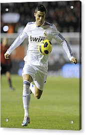 Cristiano Ronaldo 23 Acrylic Print