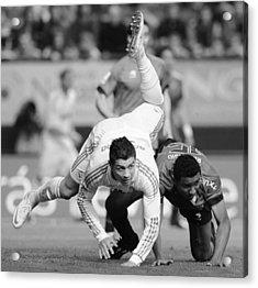 Cristiano Ronaldo 18 Acrylic Print